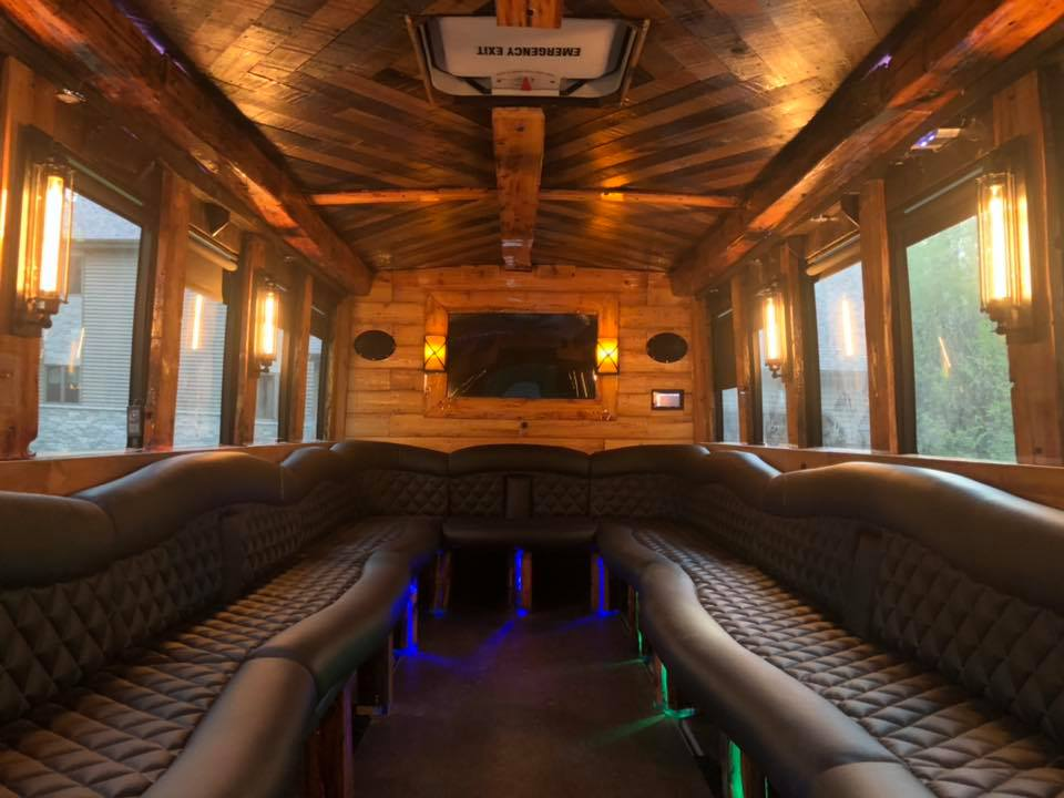 Rustic Dreamliner Interior Finished