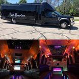 Christmas Castle Party Bus