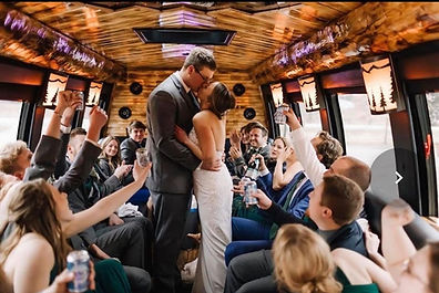Northwood's Party Bus Wedding