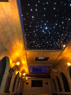Castle Dreamliner Starry Night Ceiling