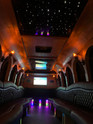 2020 Castle Dreamliner Party Bus at Night!
