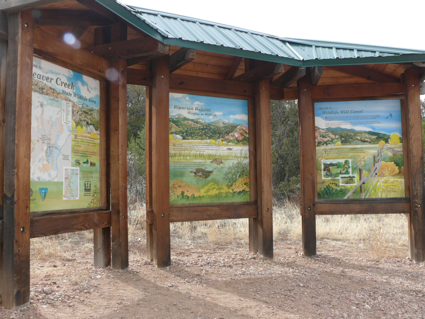 Wildlife Area Kiosk