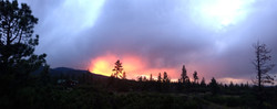 Sunset Fire in the Sky