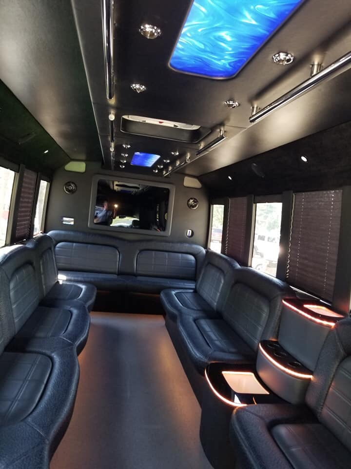 Classic Dreamliner PartyBus Interior