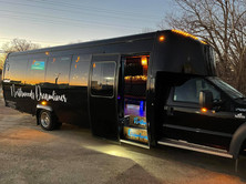 Northwoods Dreamliner Party Bus Exterior