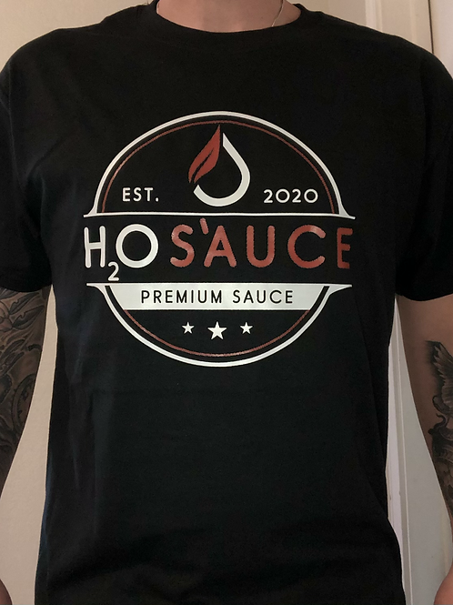 H2OS'AUCE T-Shirt (Black)