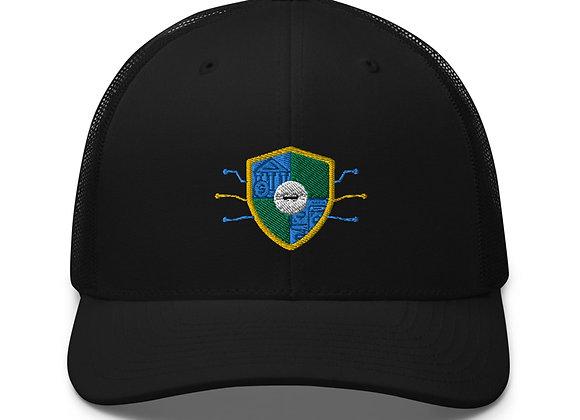 Snap-back Mesh Hat