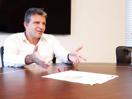 Leven Siano divulga projeto que fará do Vasco uma Potência