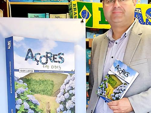 """Ígor Lopes apresenta o livro """"Açores em Cores"""" no Rio,  São Paulo e Belo Horizonte este mes"""