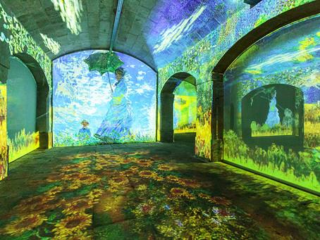 Uma galeria de arte imersiva, no subterrâneo do edifício portuense da Alfândega