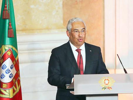 Covid-19: Primeiro-ministro retoma agenda pública após teste negativo