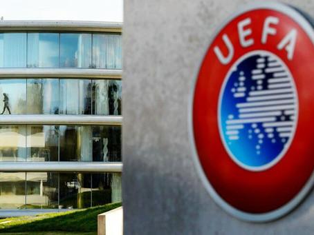 UEFA adianta 70 milhões de euros aos clubes pelo Euro2020