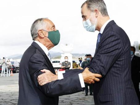 PR e Rei de Espanha falam sobre presidência portuguesa da UE e pandemia