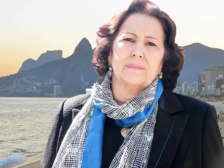 Teresa Bergher é candidata a novo mandato como vereadora no Rio de Janeiro