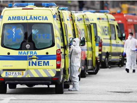 Covid-19: Portugal é o segundo país da União Europeia com mais novos casos diários de infeção