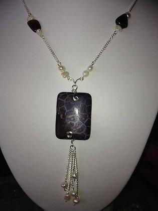 Fossil Jasper pendant