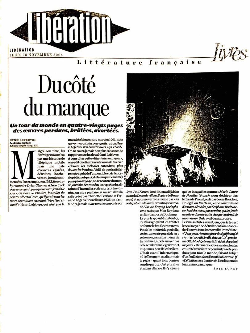 Libération - Henri Lefebvre
