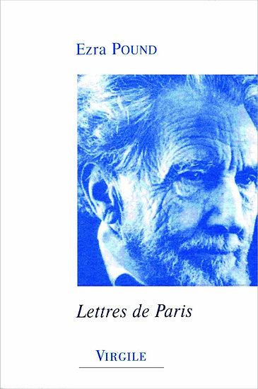 Ezra Pound | Lettres de Paris