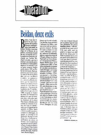 Libération - Beidao