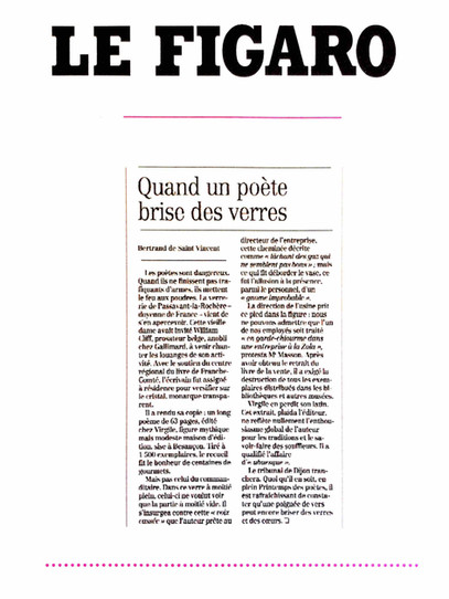 Le figaro - Editions Virgile