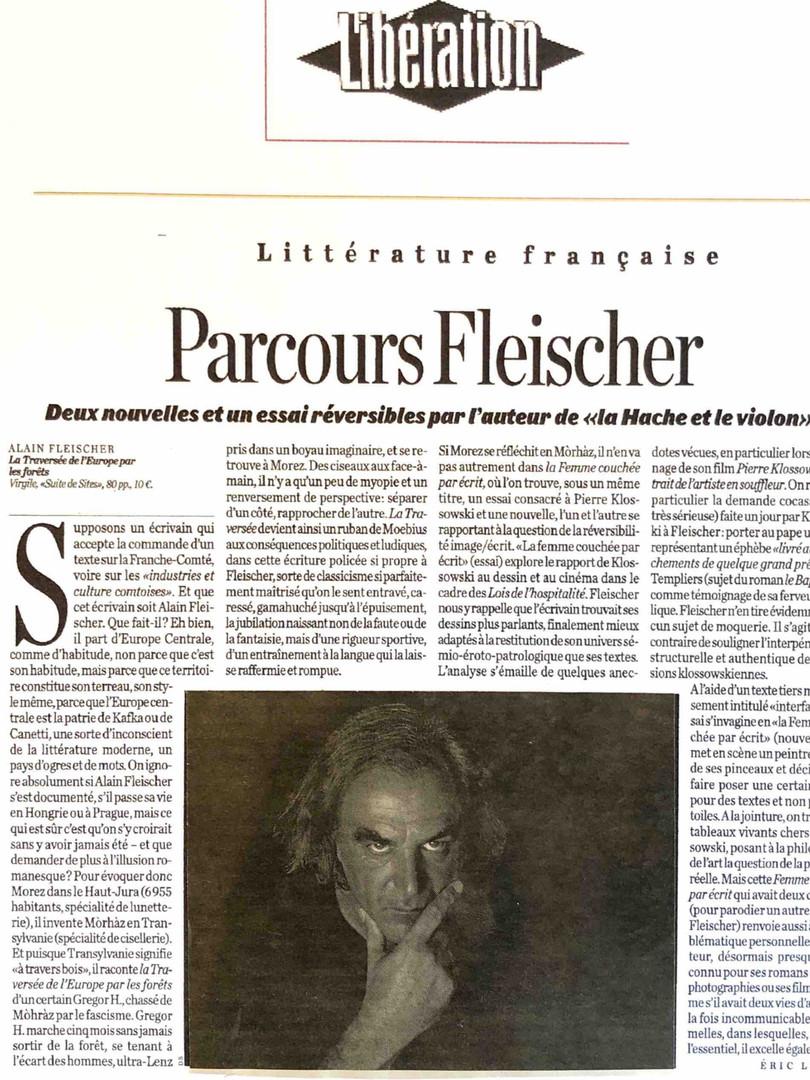 Libération - Alain Fleischer