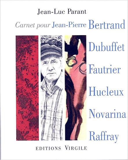 Jean-Luc Parant | Le Carnet