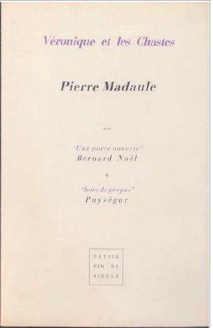 Pierre Madaule  |  Véronique et les Chastes