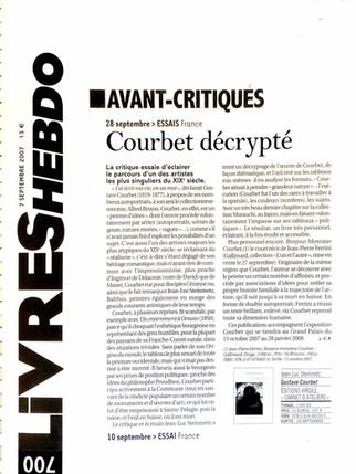 Livres hebdo - Jean-Luc Steinmetz