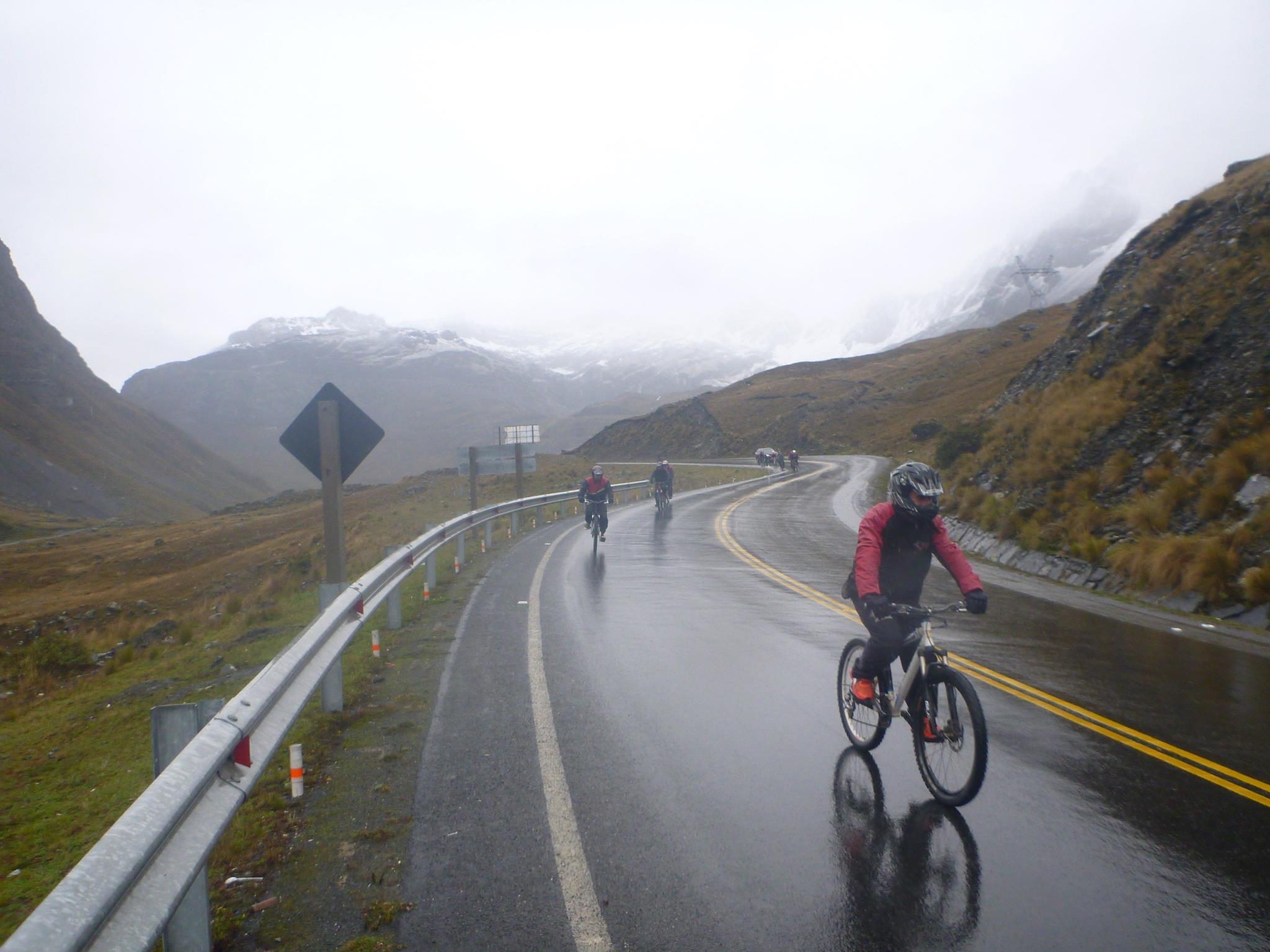 caminho de la muerte Bolivia