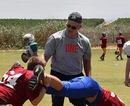 Israel Football Coach Jon Kolb