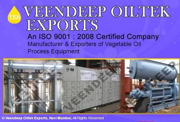 Veendeep Oiltek Exports - Vegetable oil process equipment