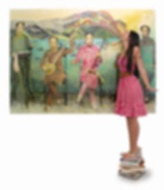 artist, painting, Nata Lee Hahn