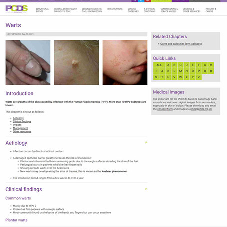A great resource in dermatology