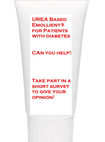 Urea based Emollients for patients with diabetes. Can you help?