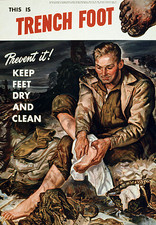 Don't forget Trench Foot