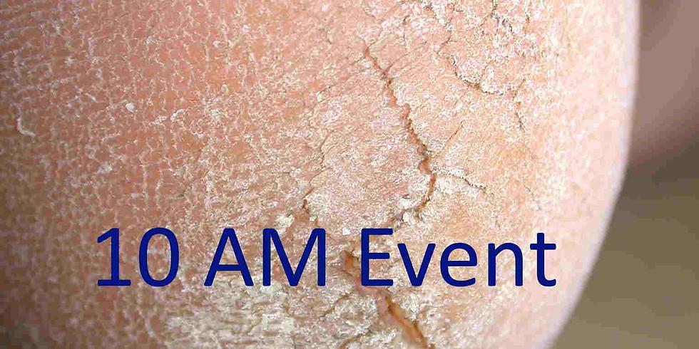 Foot Dermatology Cases Live Online (10 AM UK Time) - Cases in Podiatric Dermatology