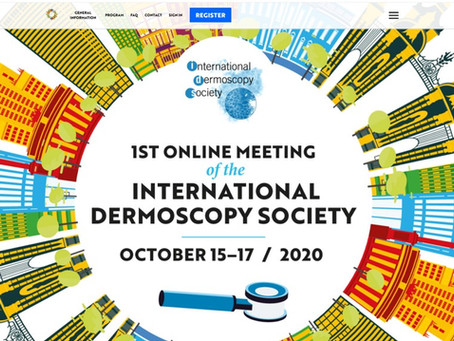 Do you use a Dermatoscope? Online Dermoscopy Conference in October 2020!