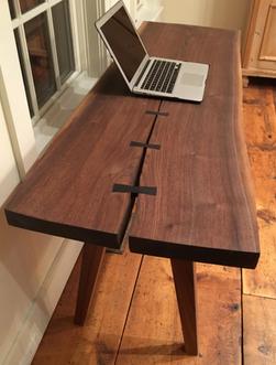 Katahdin Live-Edge Writing Table