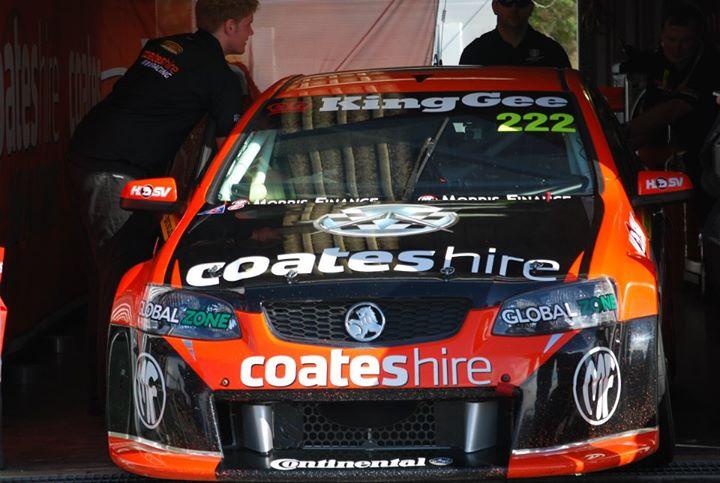 Nick Percat's #222 Dunlop Series Holden