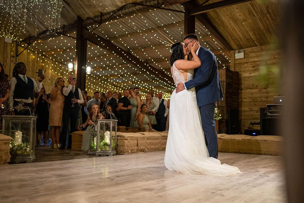 Wedding photographers in Nantwich, Cheshire woodland wedding photographer