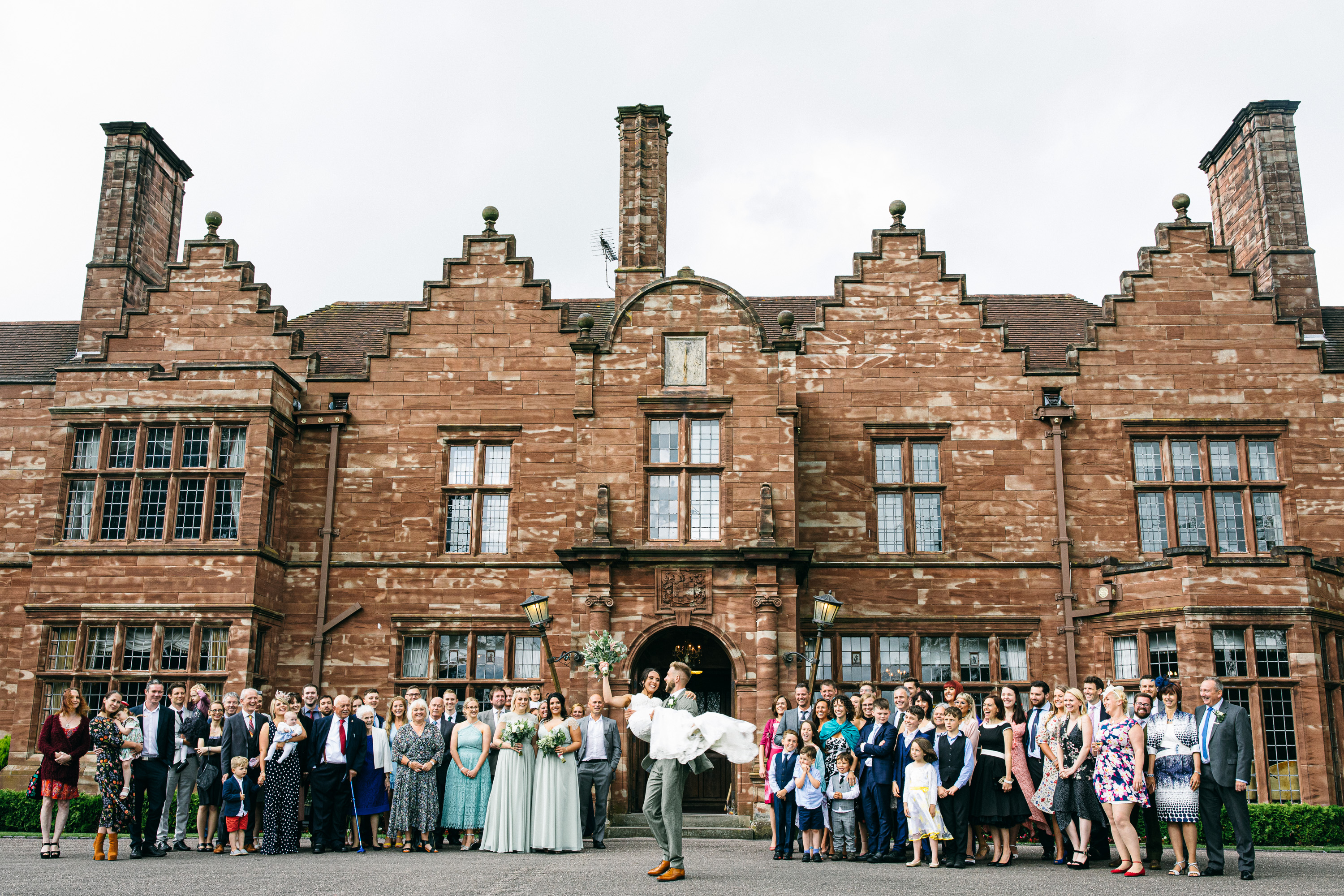 Wrenbury Hall Wedding Venue