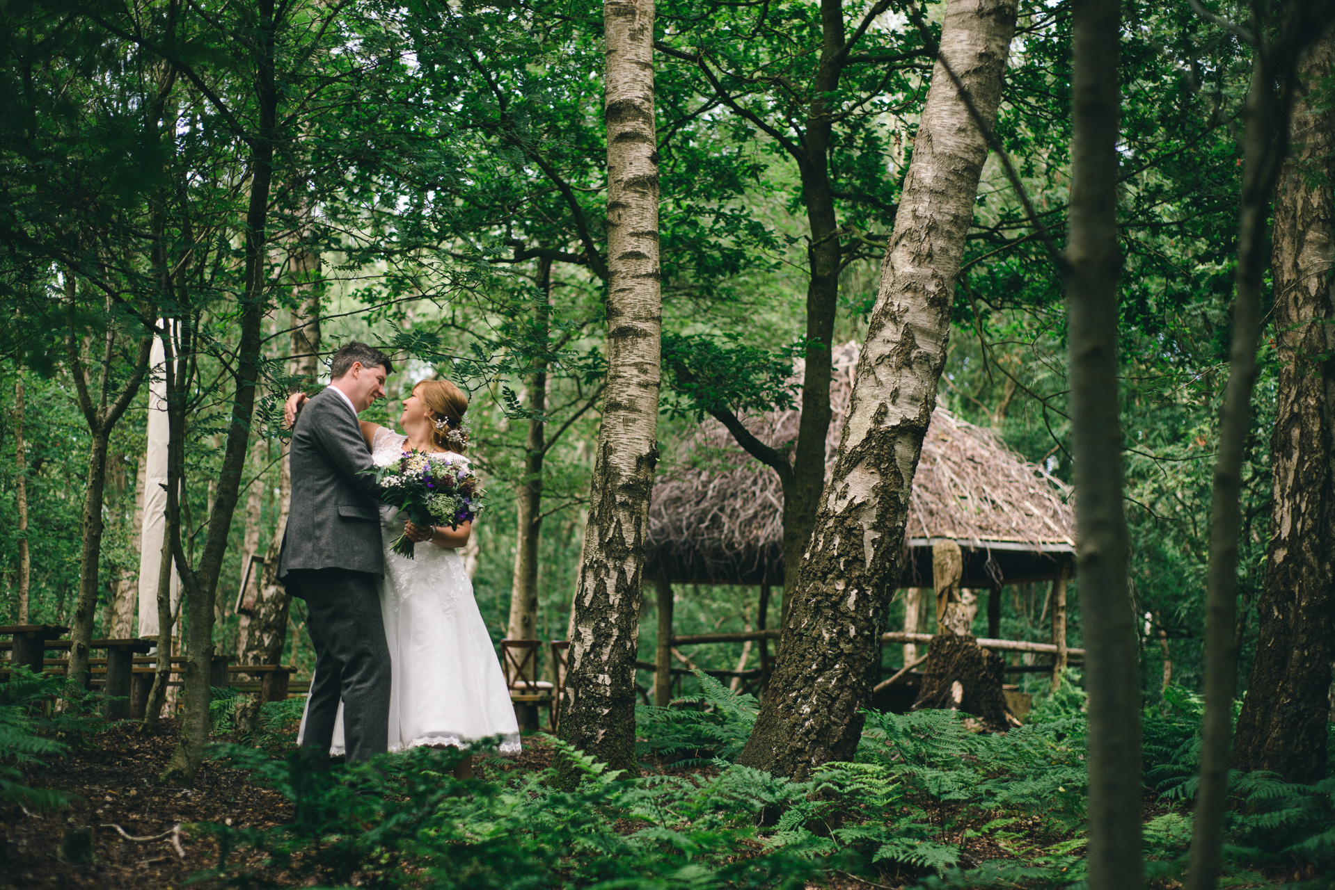 Cheshire Woodland Weddings Blakemere