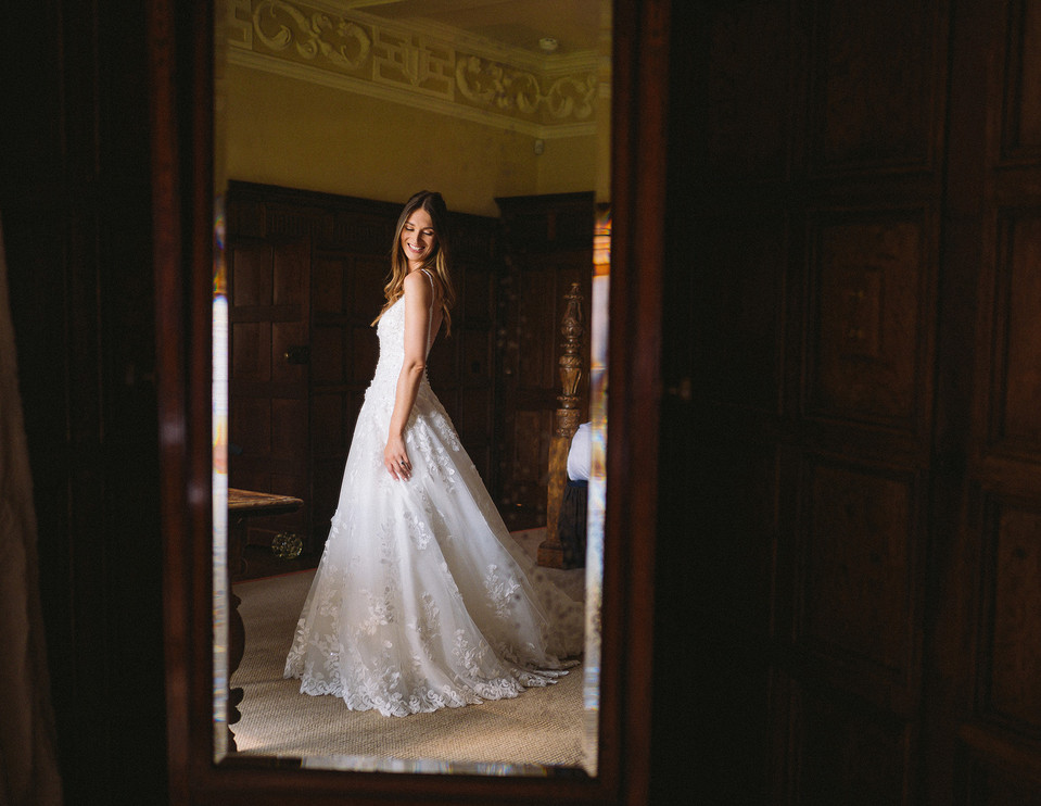 Bride Preparations Dorfold Hall