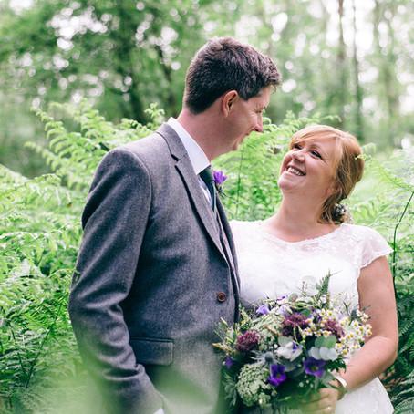 Cheshire Woodland Wedding Photography: The Wardells