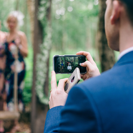 Thinking of implementing a social media policy at your wedding? 🤨
