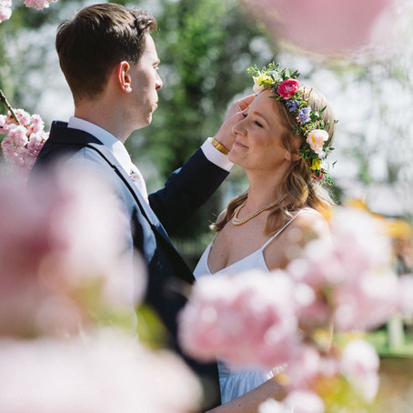 Wrenbury Wedding Photography: Mr & Mrs Cornwall