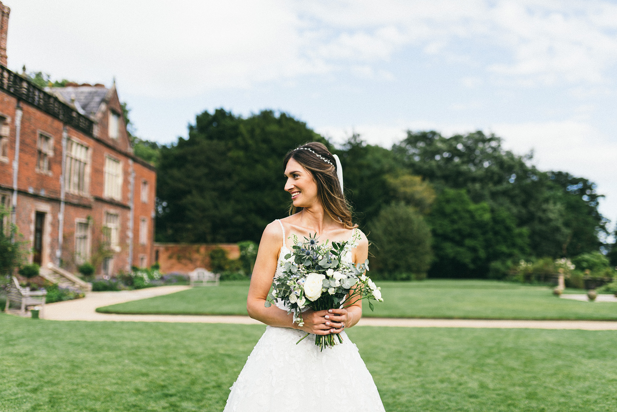 Bride Portrait Dorfold Hall