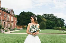 Bride Portrait Dorfold Hall