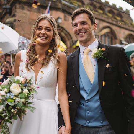 Audlem Wedding Photography: Mr & Mrs Cawthron
