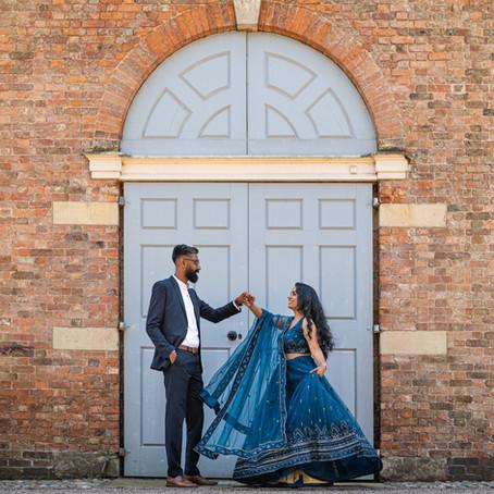 Pre-Wedding Photography: Dorfold Hall
